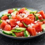 Освежителна ладна салата од лубеница 1