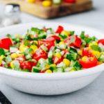 Свежа салата со пченка 1