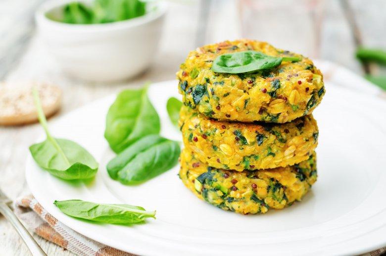Вегетаријански ќофтиња со спанаќ и сирење 2