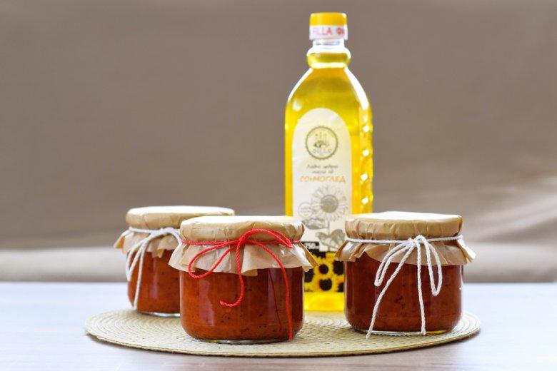 Македонски ајвар со ладноцедено сончогледово масло 2