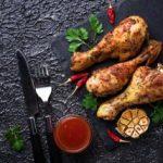 Пилешко со сос за скара 1