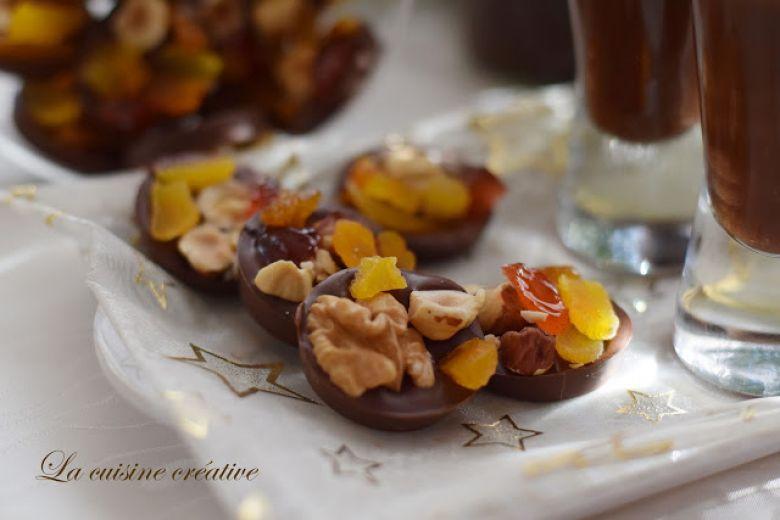 чоколадни колачиња со суво овшје и јатки