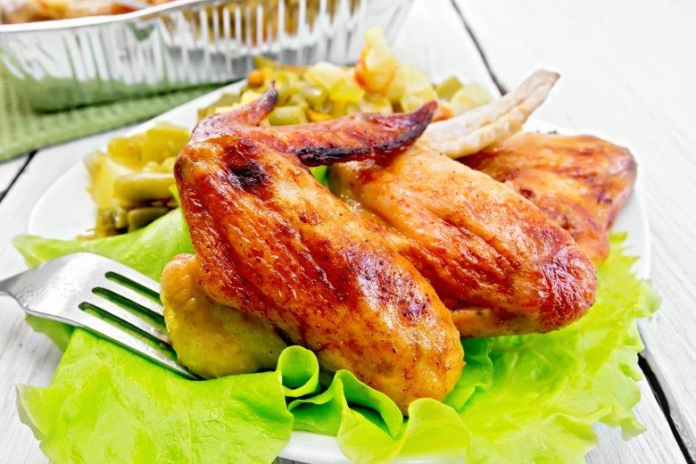 Крцкави крилца печени во рерна 2