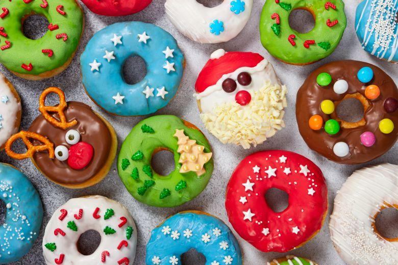 домашни празнични крофни