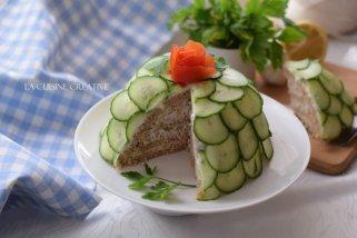 Брза солена торта со туна 1