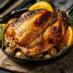 Печено пиле со зачини 1