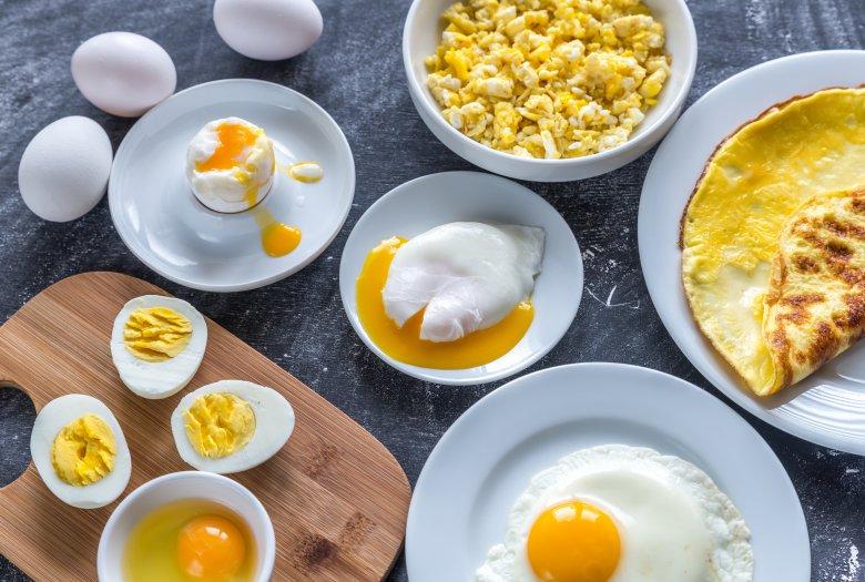 јајца во микробранова печка