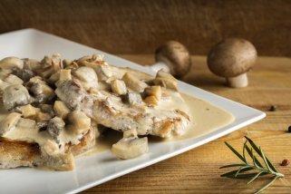 Кременадли со сос од печурки