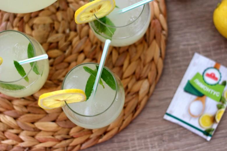 домашна лимонада сируп од лимон