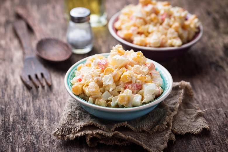 салата со ориз и мајонез 2