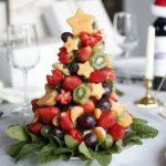 елка од овошје мала
