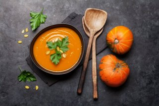 Посна крем супа од тиква