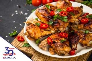 пилешки крилца со чили и лимета 1