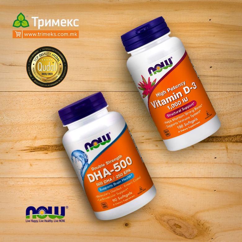 DHA i Vitamin D-3