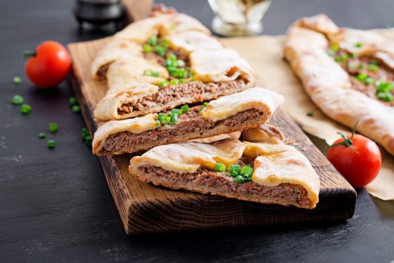 турско пиде со мелено месо 2