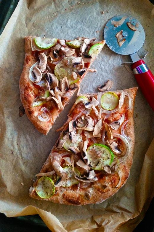 тесто за пица од интегрално брашно 2