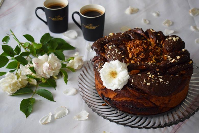 Чоколадна слатка погача 6