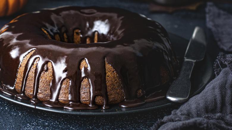 куглоф со топло чоколадо