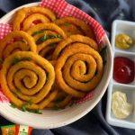 пржени спирали од компири