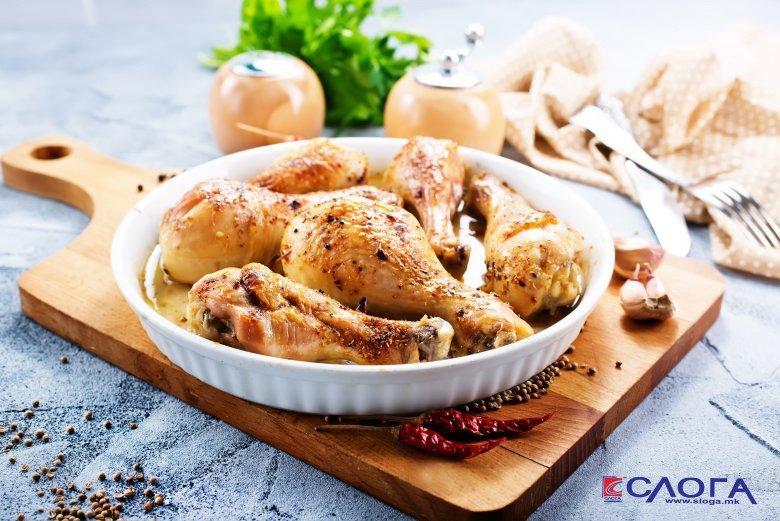 Брз рецепт за печени пилешки копанчиња