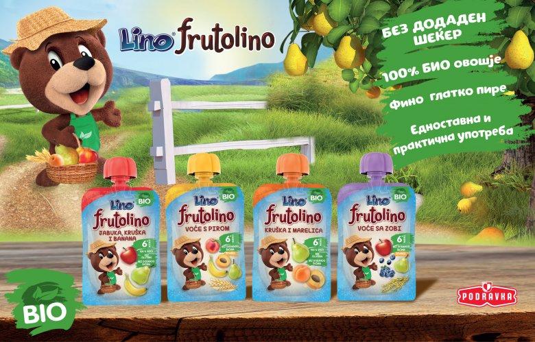 Лино Фрутолино био кашички