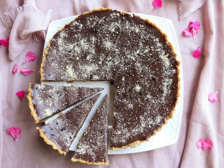 тарт со чоколаден ганаш